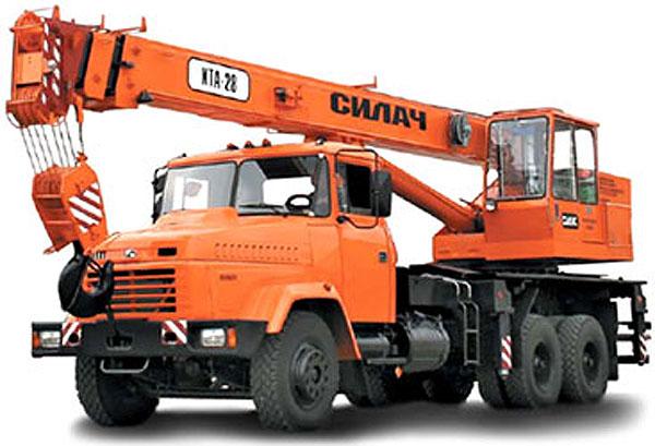 Заказать Аренда автокрана КТА-28 Киев, Житомир, Украина