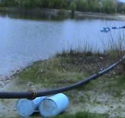 Очистка озер, рек; углубления водоемов, каналов, рек; расширение русел; очистки каналов, рек и различных водоемов, промышленных и сельскохозяйственных отстойников от ила, песка и других отложений
