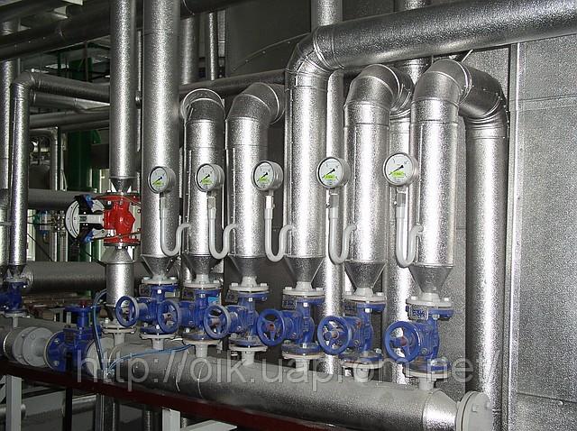 Теплоизоляция трубопроводов и оборудования