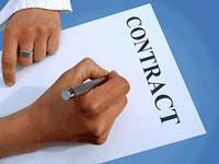 Заказать Составление договоров, сопровождение сделок