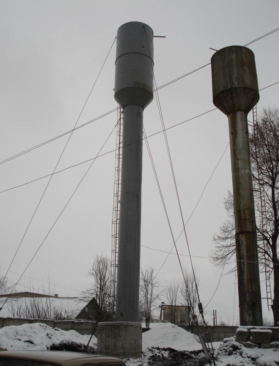 Работы буровые с установки водонапорных башен