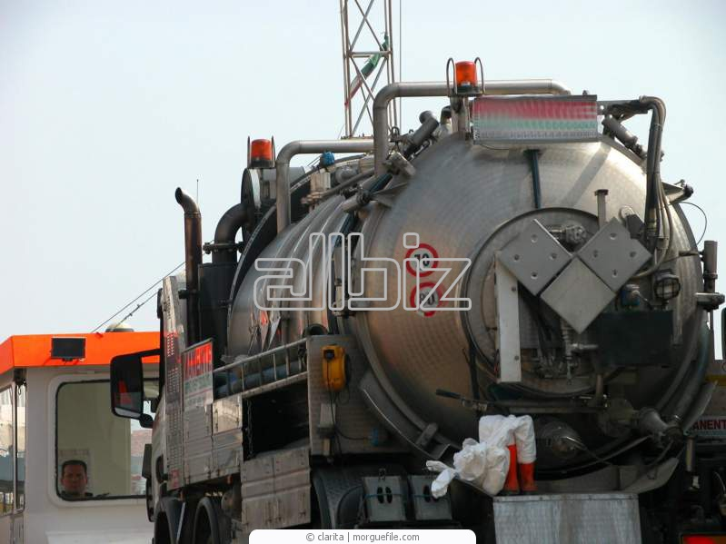Order Transportation of goods in automobile tanks