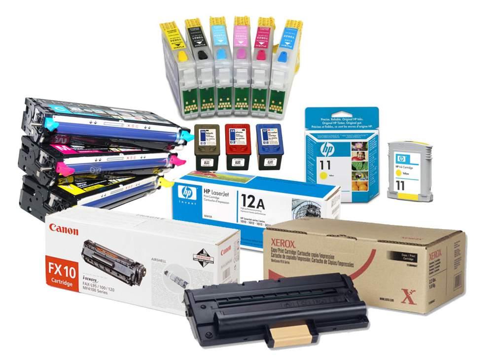 Заказать Заправка принтеров и копировальных аппаратов