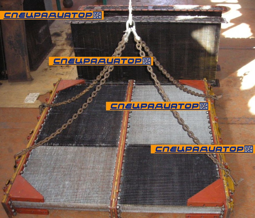 Ремонт радиаторов для бульдозеров