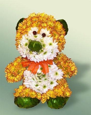 Заказать Игрушки из цветов