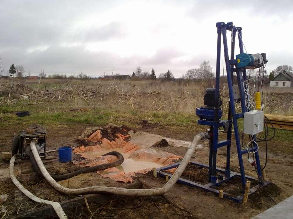 Установка для бурения скважин на воду своими руками видео