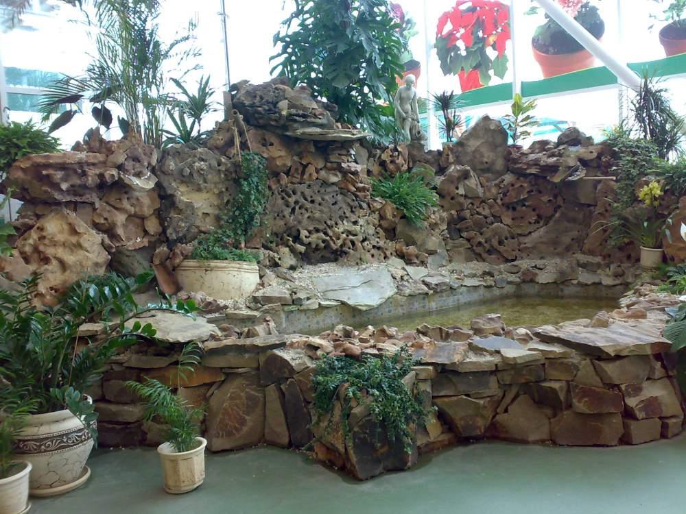 Заказать Строительство фонтанов из натуральных камней