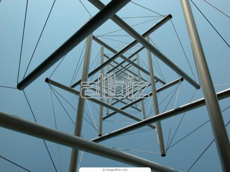 Заказать Крепления, металлические конструкции, составные элементы металлоконструкций.