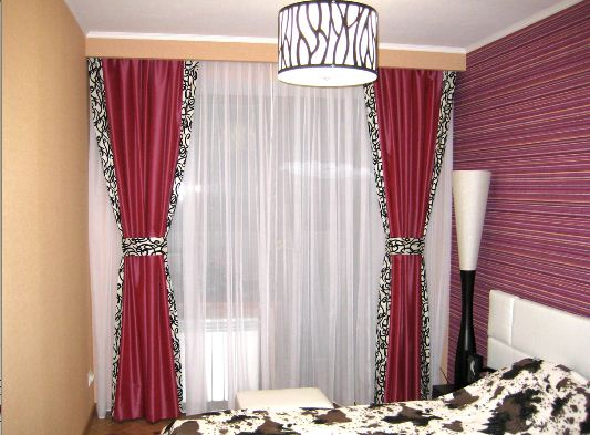 шторы красивые для зала фото