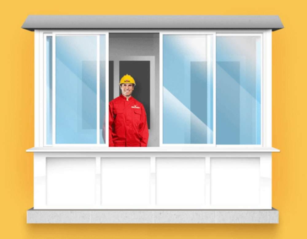 Остекление балконов и лоджий - пластиковые окна дёшево: прод.
