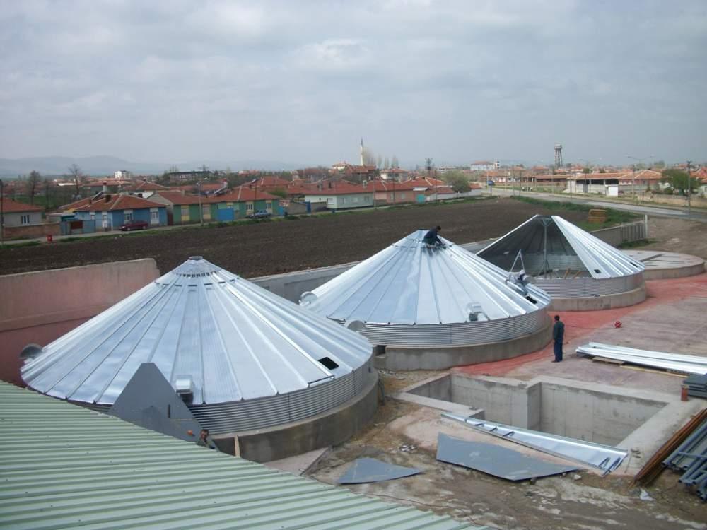 Будівництво елеваторів (зерносховищ)
