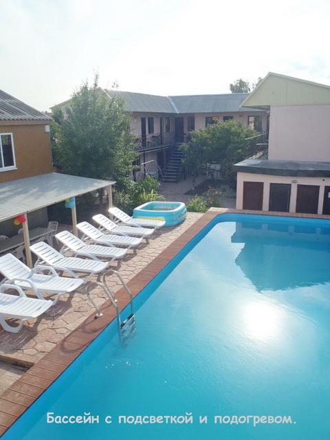 Заказать Феодосия Золотой пляж. Мини гостиница с бассейном