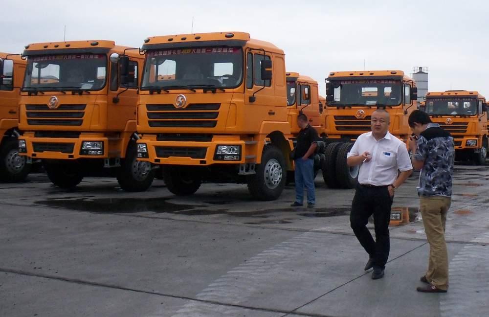Заказать Самосвалы SHAANXI 6х4 -25 тонн; 8х4 - 30 тонн.