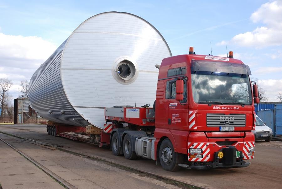 Перевозка крупногабаритных и нестандартных грузов (негабаритных, тяжеловесных грузов)