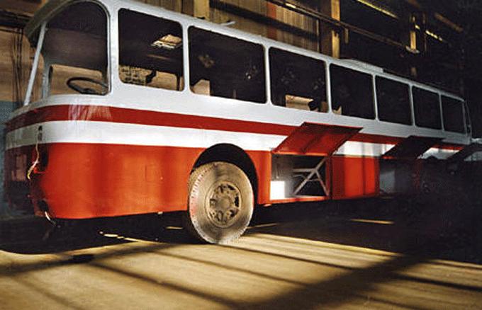 Заказать Окраска кузова автобуса