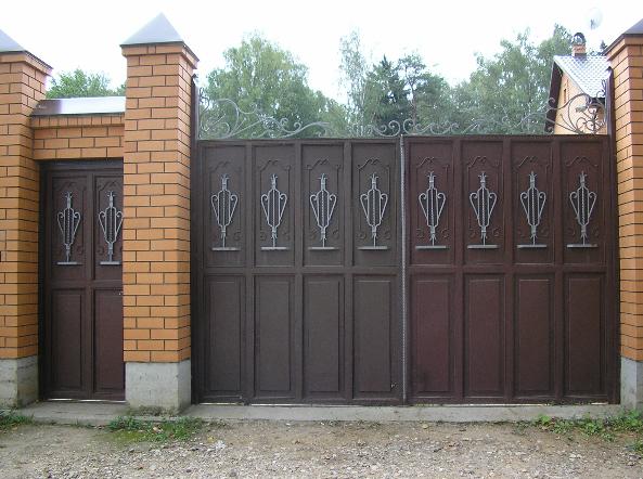 Заказать Изготовление и установка металлических ворот