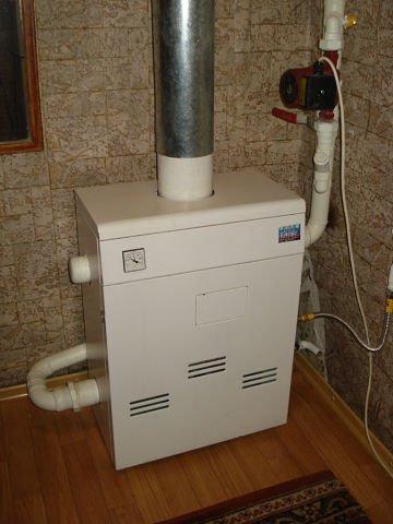 Установить заменить напольный газовый котел