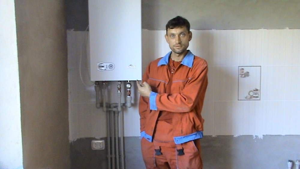 Заказать Установить заменить двухконтурный газовый котел