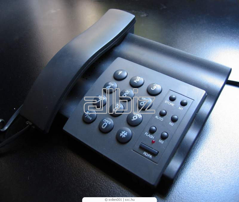 Заказать Цифровая телефонная связь