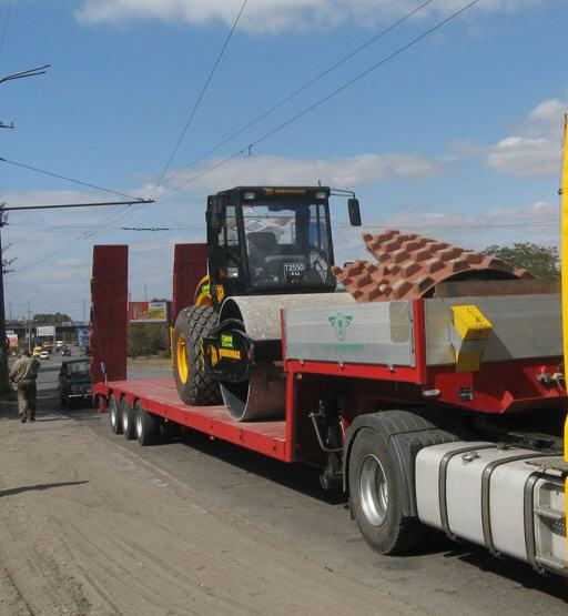 Заказать Грузовая перевозка промышленных грузов