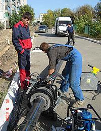 Заказать Монтаж внутренних и внешних трубопроводов из полимерных материалов