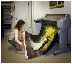 Заказать Широкоформатная цифровая печать в Ивано-Франковске на банерной ткани, бумаге, футболках, фотопортреты, репродукции картин.