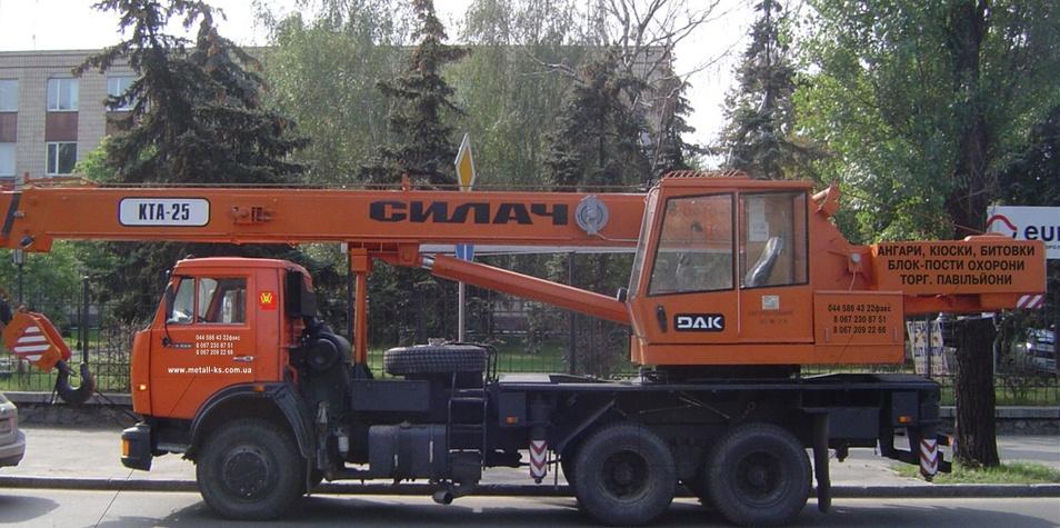 Заказать Услуги Автокрана 10-30 тн.