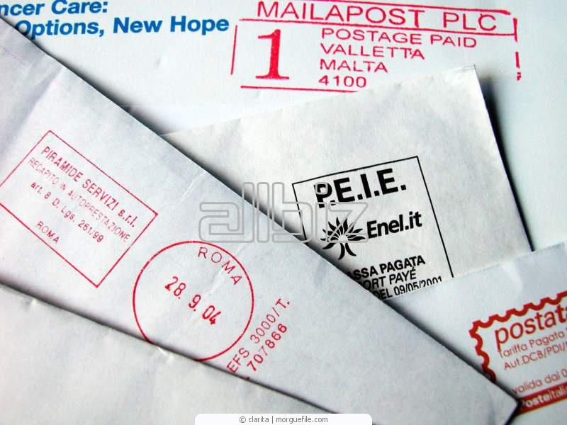 Заказать Доставка писем, корреспонденции