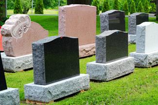 Заказать Установка памятников