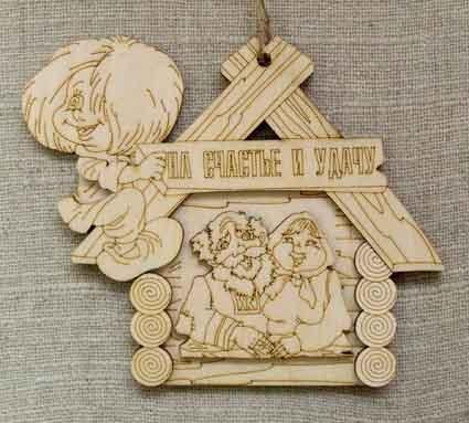 Сувенирчики из дерева своими руками