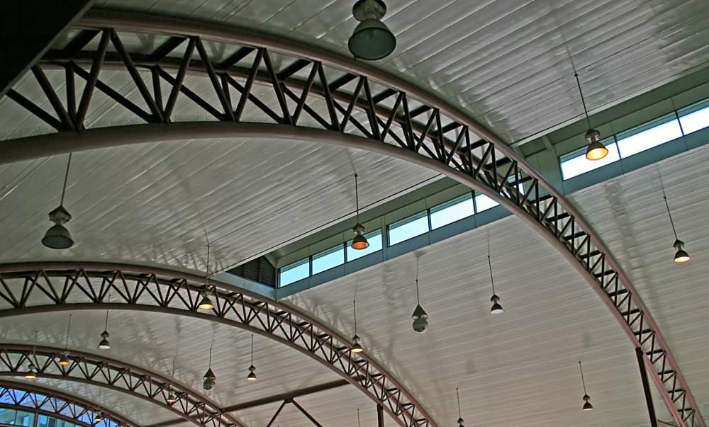 Заказать Строительство металлических арок