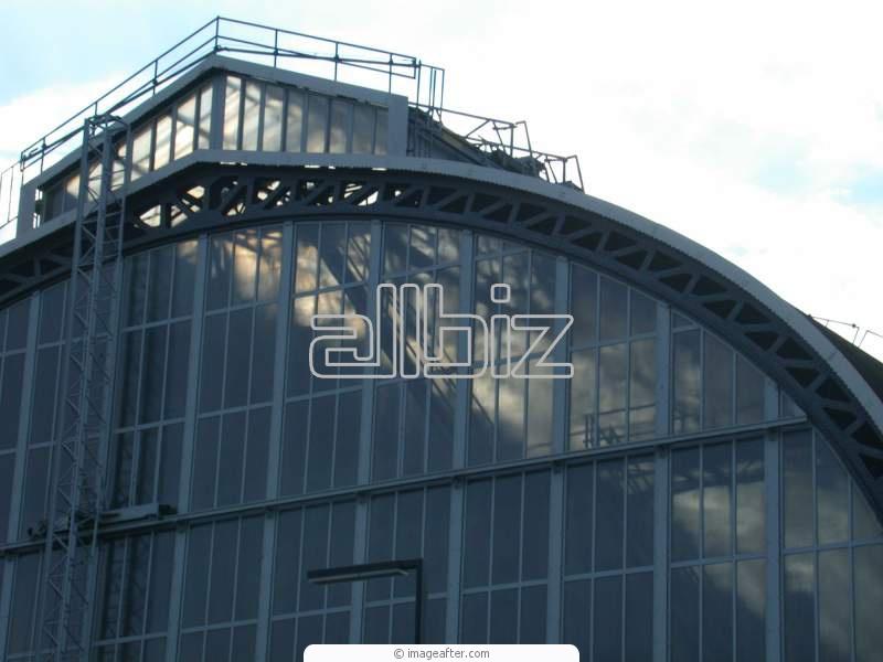 Заказать Строительство промышленных зданий