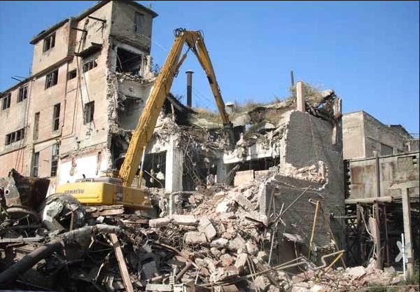 Заказать Демонтаж зданий Цена