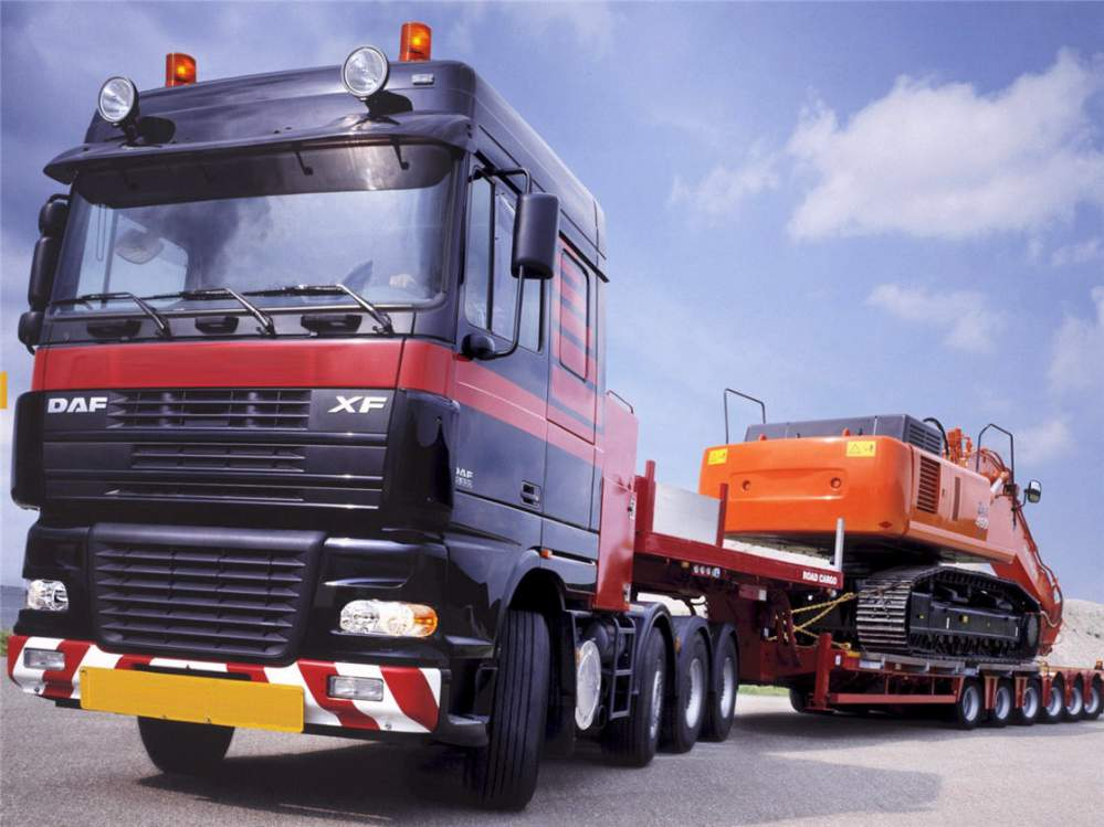 Перевозка тяжеловесных грузов, негабарита автомобильным транспортом по Киеву, Украине, СНГ, Европе, Азии