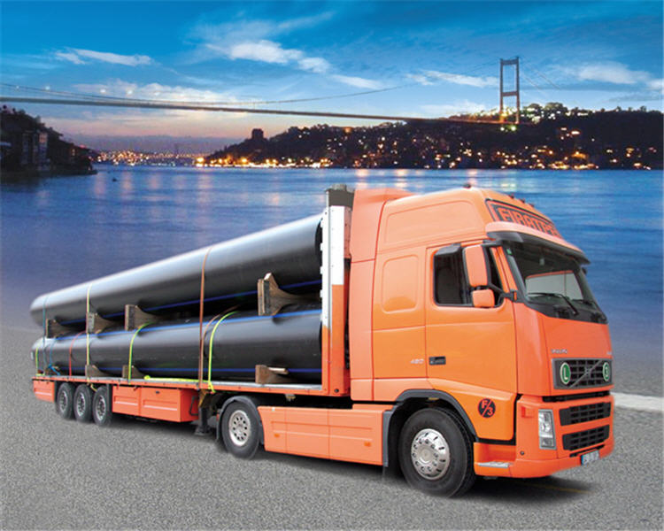Order Transportation of pipes, transportation of goods for construction