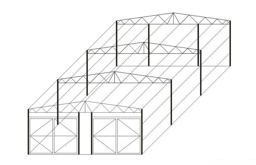 Заказать Монтаж металлоконструкций, навесы стандартных и нестандартных форм