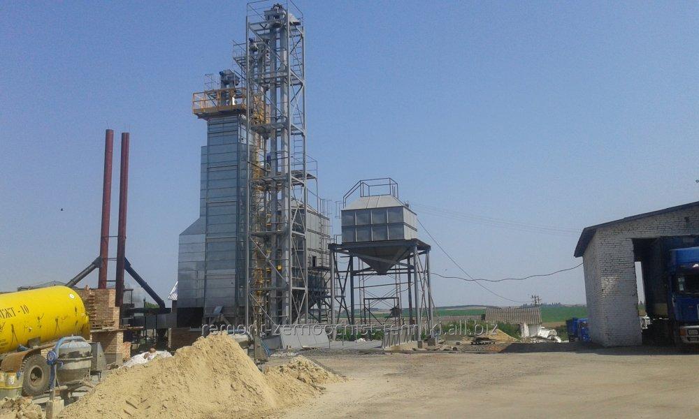 Будівництво зерноочисних комплексів