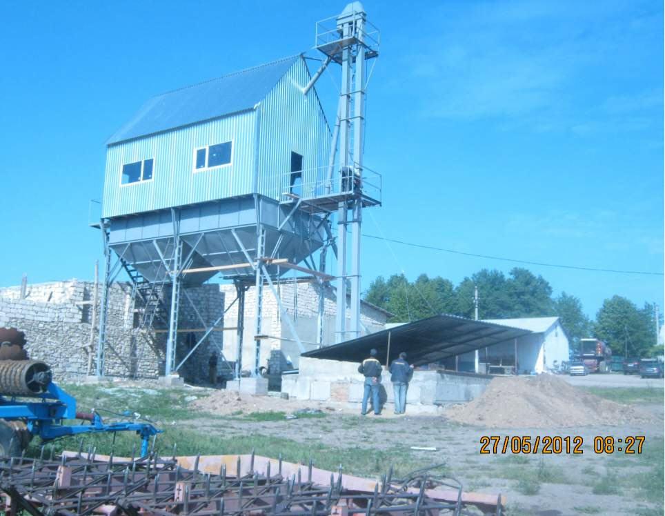 Ремонт, обслуживание зерноочистительного оборудования.