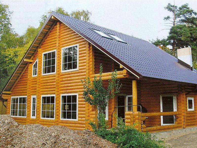 Заказать Строительство домов из дерева.