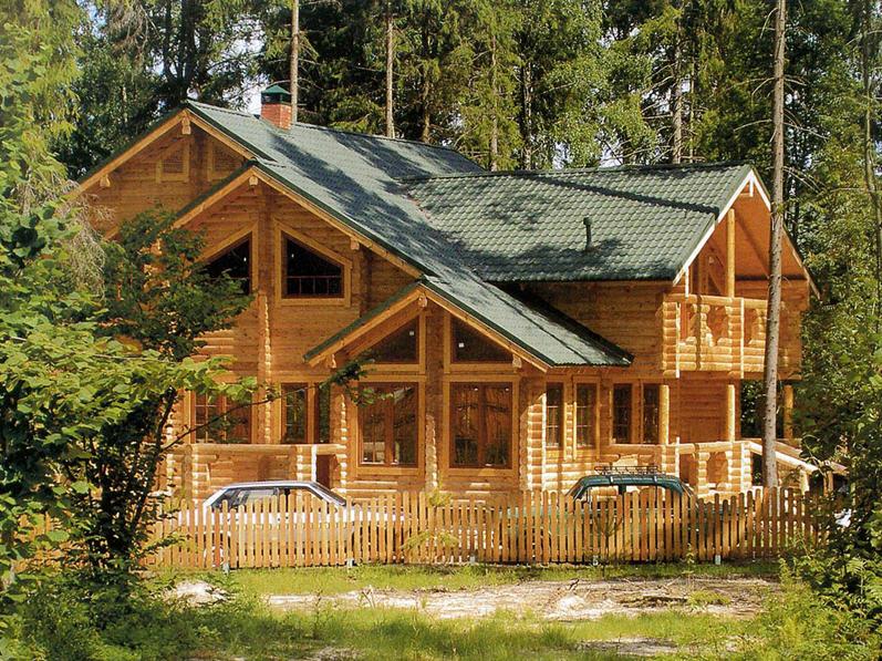 Заказать Установка деревянных домов.