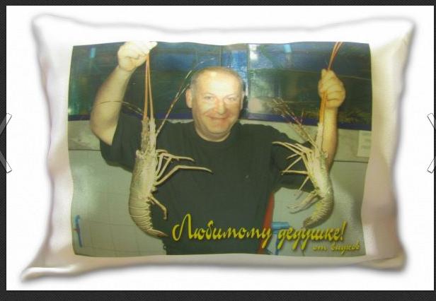 Заказать Печать фотографий на подушках (Одесса)