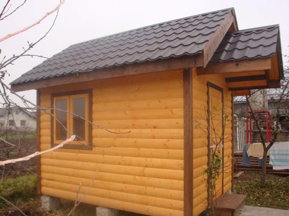 Заказать Изготовление дачных деревянных домиков