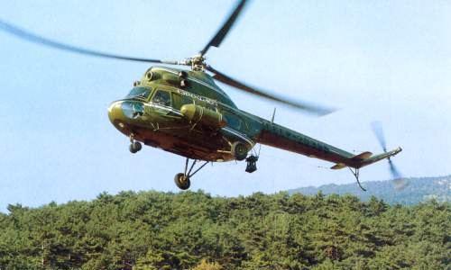 Заказать Аренда вертолета МИ 2 Севастополь, Крым