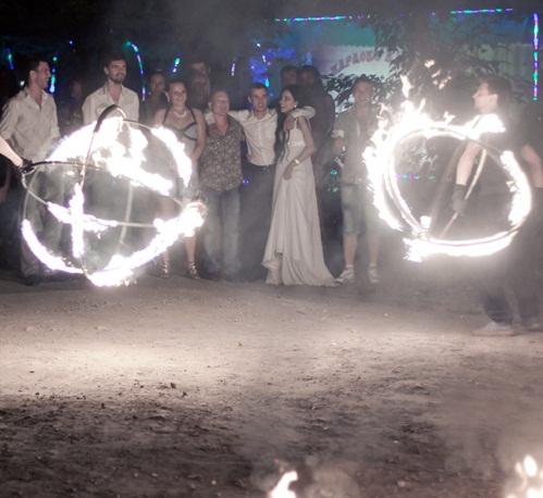 Заказать Сценарий свадьбы с огненным шоу.