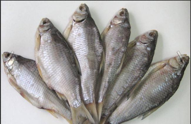Заказать Рыба сушеная или соленая