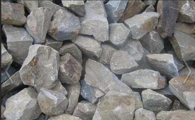 Order Delivery of a rubble stone