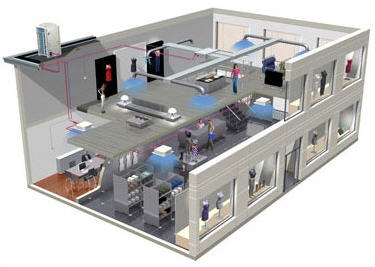 Замовити Монтаж, ремонт і сервісне обслуговування систем кондиціювання й вентиляції