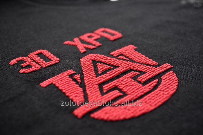 Нанесение логотипа на текстиль методом термопереноса