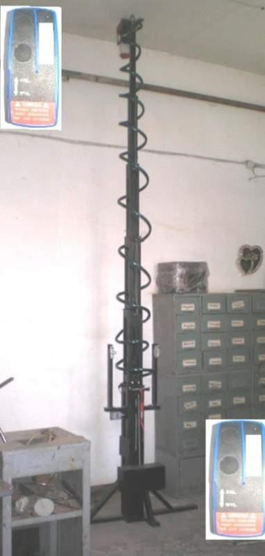 Заказать Мачты антенные телескопические