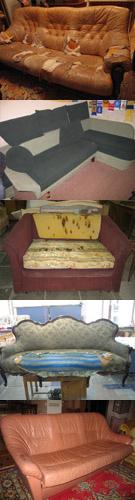 Заказать Перетяжка мягкой мебели